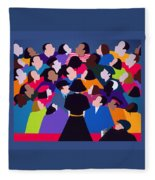 Piaf Aka A Tribute To Edith Piaf Fleece Blanket