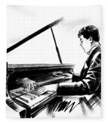 Pianist Fleece Blanket