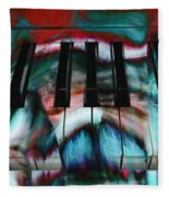 Piano Colors Fleece Blanket