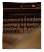 Piano Guts Fleece Blanket