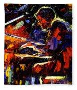 Piano Man Fleece Blanket