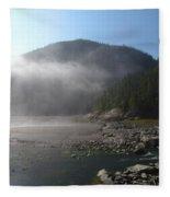 Baie-des-rochers 2, Quebec Fleece Blanket