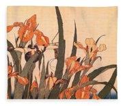 pic09600 Hokusai Fleece Blanket