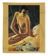 Picabia 52 Francis Picabia Fleece Blanket