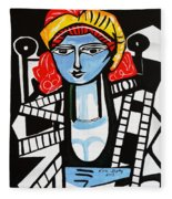Picasso By Nora  Film Star Fleece Blanket