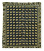 Group Of Cows - Vi Fleece Blanket