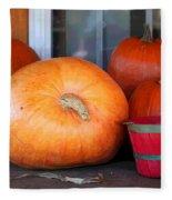 Pick A Pumpkin Fleece Blanket