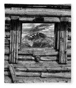 Picture Window #3 Fleece Blanket