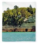 Pictured Rock 6323  Fleece Blanket