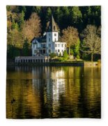 Picturesque Grundlsee Fleece Blanket
