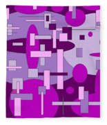 Piddly Fleece Blanket