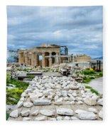 Acropolis - Pieces Of The Puzzle Fleece Blanket