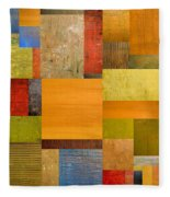 Pieces Project Ll Fleece Blanket