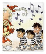 Pied Piper Trump And Infestation Fleece Blanket