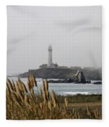 Piegeon Point Lighthouse Fleece Blanket