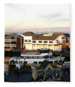 Pier 39 Panorama Fleece Blanket