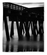 Pier Abstract Fleece Blanket