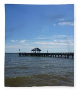 Pier  Fleece Blanket