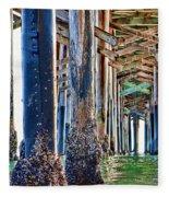 Pier Pylons Balboa Fleece Blanket