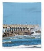 Pier Surf Fleece Blanket