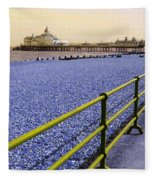 Pier View England Fleece Blanket