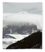 Piercing The Clouds Fleece Blanket