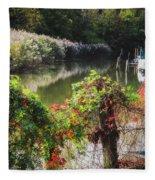 Piermont Fall Color Fleece Blanket