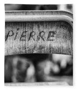 Pierre Fleece Blanket