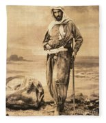 Pierre Savorgnan De Brazza Fleece Blanket
