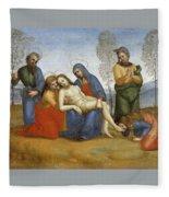 Pieta Raffaello Sanzio Da Urbino Raphael Raffaello Santi Fleece Blanket