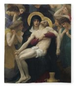 Pieta Fleece Blanket