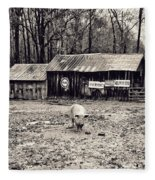 Pig Farm Lot B Fleece Blanket