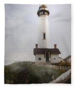 Pigeon  Point Lighthouse Fleece Blanket