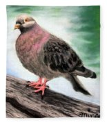 Pigeon Toes Fleece Blanket