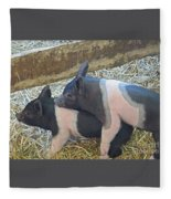 Piggyback Fleece Blanket