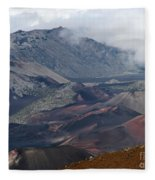 Pihanakalani Haleakala House Of The Sun Summit Maui Hawaii Fleece Blanket