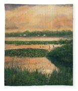 Pike Lake Fleece Blanket