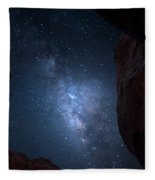 Pike National Forest Milky Way Fleece Blanket