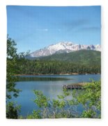 Pike's Peak Fleece Blanket