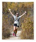 Pikes Peak Road Runners Fall Series IIi Race #3676 Fleece Blanket