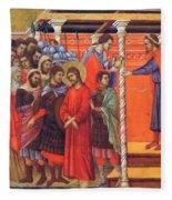 Pilate Washes His Hands 1311 Fleece Blanket