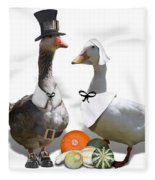 Pilgrim Ducks Fleece Blanket