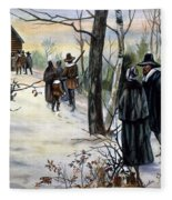 Pilgrims: Church Fleece Blanket