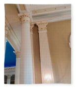 Pillars Of Strentgh Fleece Blanket