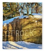 Pilot Rock Iowa Fleece Blanket