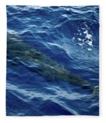 Pilot Whale 4 Fleece Blanket
