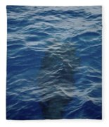 Pilot Whale 8  Fleece Blanket