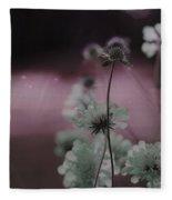 Pincushion Pink Invasion  Fleece Blanket