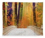 Pine Bank Splendor Fleece Blanket