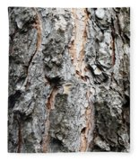 Pine Bark Fleece Blanket